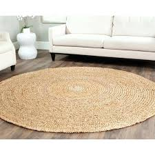 sisal round rug casual natural fiber hand loomed sisal style natural jute rug sisal rugs pottery
