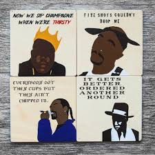 Hairstylist Quotes Adorable HIP HOP QUOTES COASTERS 48 In A Pack One Of Each BIG JAYZ Depop