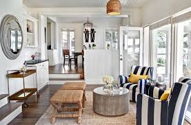 coastal style living room furniture. coastal nautical living room with navy and white stripe club chairs style furniture
