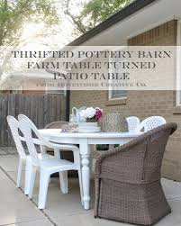 Pottery Barn Kitchen Curtains Used Pottery Barn Patio Furniture Perfect Lighting In Pottery
