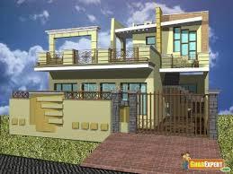 Small Picture GharExpert exterior elevation design GharExpert