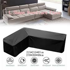outdoor l shape furniture cover