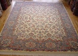 8 8 x 10 6 wonderful karastan ivory fl kirman usa wool area rug