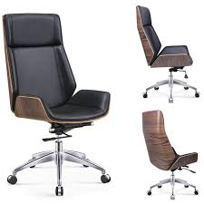 computer chair back. Perfect Back HighBack Bentwood Swivel Office Computer Chair Micro Fiber Leather  Furniture For Home To Back D