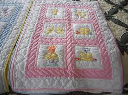 Handmade Amish baby Quilts and Baby Blankets for Sale & Embroidered Amish Baby Quilt Adamdwight.com