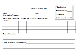 Word Cards Templates 14 Progress Report Card Templates Docs Word Pdf Pages