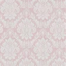 Vliestapete Barock Ornament Rosa Hellgrau Ps Tapete 02508
