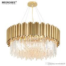luxury crystal chandelier light gold crystal lighting fixtures cristal res luminaire for dining living room restaurant lamp crystal chandelier light