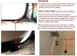 bathtub drain stopper stuck bathtub drain stopper removal
