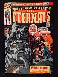 Eternals (first appearance) ikaris (first appearance) other unnamed eternals (only in flashback) supporting characters: Marvel The Eternals Omnibus Jack Kirby First Edition Hardcover 1938170353