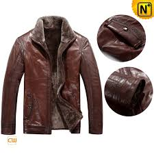 sheepskin leather fur jacket cwmalls com