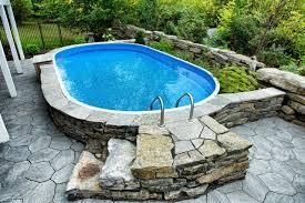 fine pools semiinground traditionalpool in semi inground e semi inground swimming pools6