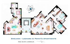 House of Simpson family   Both floorplans by nikneuk on DeviantArtSheldon  Leonard and Penny Apartment from TBBT by nikneuk