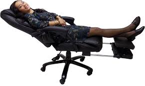 office leather chair. Heated Massage Reclining Leather Office Chair Wfootrest  Chairs Office Leather Chair