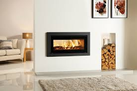 stovax studio 2 duplex profil wide inset wood burning fire