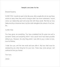 Love Letter Template For Her Letters Wife Example On 1st