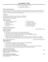 Healthcare Resume Template Interesting Free Medical Resume Templates Resume Templates For Medical Assistant