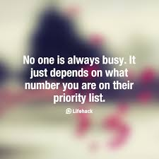 62 Best Priority Quotes And Sayings