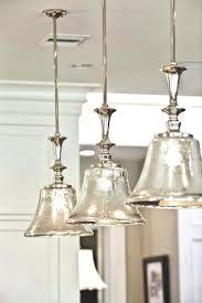 accessories kitchen lighting decorating hanging tulip bell clear glass mini pendant light island sink lights