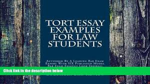 price tort essay examples for law students authored by a leading 00 19