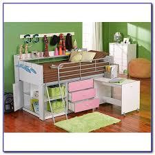 charleston storage loft bed with desk white instructions