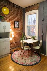 65 Smart and Creative Small Apartment Decorating Ideas on A Budget. Small Dining  Table ...