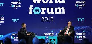 trt world forum 2018 partites in setting the global news agenda