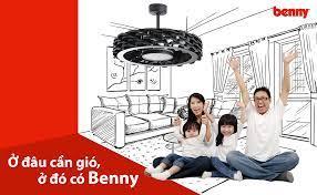 Quạt trần có đèn Benny Firenze BF-C73BLS 60W - Remote (Bao lắp đặt –  www.namduongthinh.com