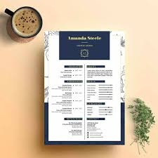 Illustrator Resume Best Resume Templates 24 Examples To Download Use Right Away 13