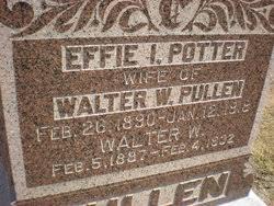 Effie Irene Potter Pullen (1890-1918) - Find A Grave Memorial