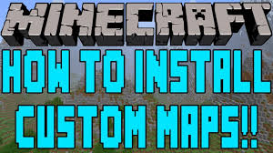 how to download  play a minecraft pc map tutorial   youtube