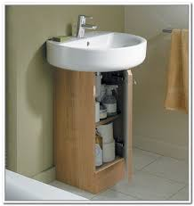 20 pedestal sink storage with space saving features aida homes