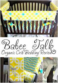 e talk organic crib bedding review