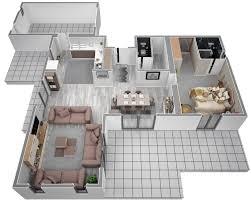 Plan De Maison A Etage Moderne