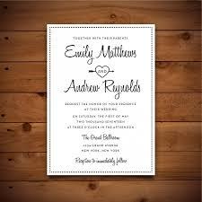 Download Word Doc Printable Vintage Style Wedding Invitation Template Dark Grey