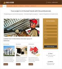 Construction Website Templates Interesting 28 Construction Website Themes Templates Free Premium Templates