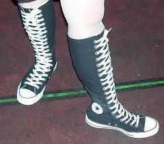 converse shoes for girls knee high. knee high converse for girls   photo shoes