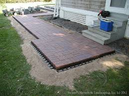 attractive raised paver patio exterior decorating plan how to build a raised paver patio patio design