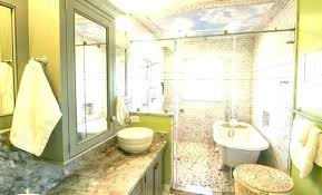 freestanding tub in small bathroom intended for property full size of bathtub shower combo remodel ideas