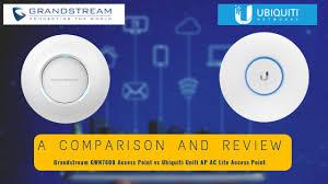 Unifi Ac Lite Grandstream Gwn7600 Review And Comaprison