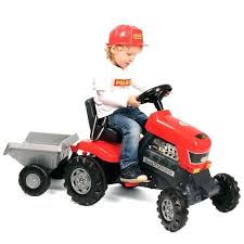 tractor trailer ride on toy wader turbo pedal tractor trailer bike ride on kids rider outdoor