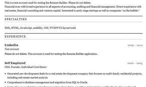 Free Fill In Resumes Printable Resume Resume Builder Online Free Resume Builder U100 Resume 95