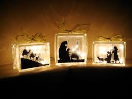 say it on the wall new glass block nativity updated 11 10 new add on and single silhouette
