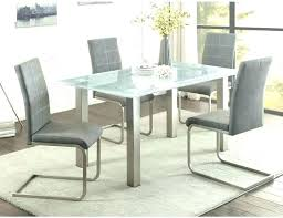 glass top dining table for 6 glass top table and chairs set full size of glass