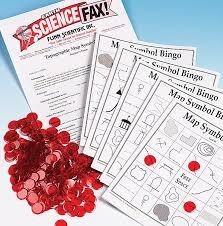 Topographic Map Symbol Bingo—Super Value Game
