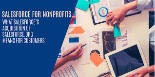 Salesforce For Nonprofits Roundup Of Latest Mergers And
