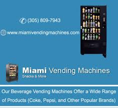 Vending Machines For Sale In Miami Impressive We Also Have Healthier Vending Machines To Choose From If You Need