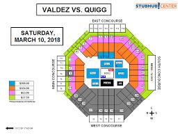 Stubhub Msg Seating Chart 74 Skillful Stubhub Center Boxing Seating View