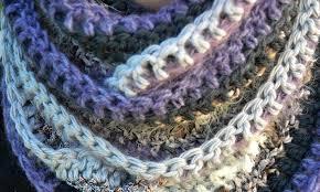 Crochet Scarf Patterns Bulky Yarn Cool Design