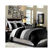 Black White Gray Bedroom Ideas 3